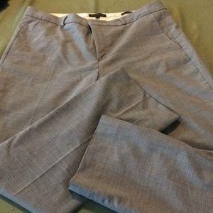 Banana Republic Ryan 14 Wool Light Grey Trousers